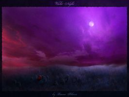 Violet Night by luana