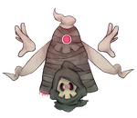 355 and 356 - Duskull and Dusclops by 1-084