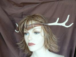 Faun antlers you can wear by faerywhere