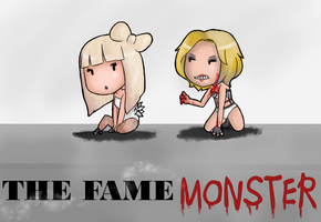 The Fame and the Monster by Super-Cute
