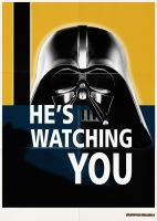 Darth Vader  Careless Talk Poster Campaign by FantasminhaCamarada
