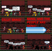 Axem Rangers V.S Cillit Bang by NightmareBros