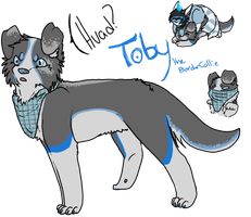 toby the tobster by Bloody-Syringe