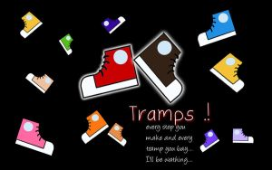 Tramps Wallpaper 2 by maybe55