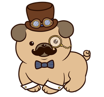 Steampug_ PPR Design by LuckySquidStudios