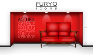 Webdesign - Furyo-icons by Furyo-kun