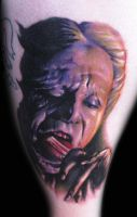 Color Dracula Tattoo by hatefulss