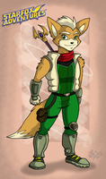 Fox McCloud +Adventures by RatchetJak