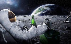 Drinking on the Moon by gawrifort
