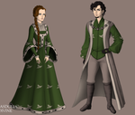 Petyr and Alayne by alcanis-ivennil