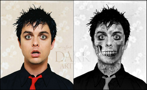 Billy Joe Armstrong SKULL by NewX4