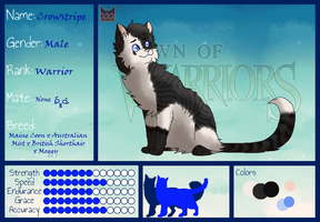 Crowstripe: Warrior of SeaClan by GwentheCatify