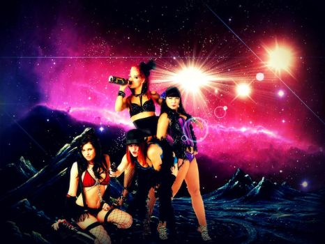 :Bikini Girls from the Lost Planet: by Japarican-soulja