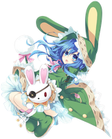 Date A Live Yoshino Png by bloomsama