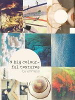 9 Colourful Large Textures by Emmaso by EmmaSo