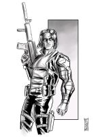 The Winter Soldier by Supajoe
