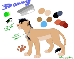 Danny Official Reference 2013 by Ghostcub