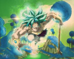 Broly Ss5 by Tinss