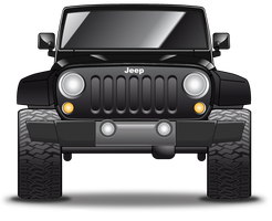 jeep icon by cavalars