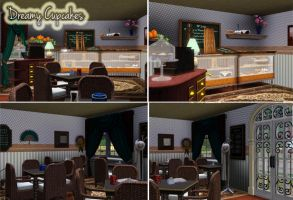Dreamy Cupcakes Inside by TheSims3Pets