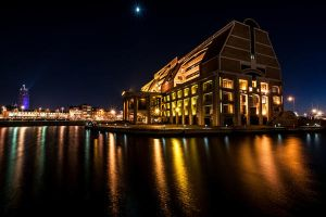 In golden colors  - Dunkerque France by Tetelle-passion