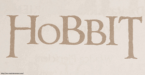 Hobbit by Mrs-Reed