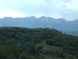 The Wasatch Mountains by blitzuchan