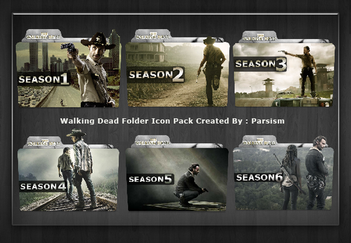 Walking Dead Folder Icon Pack by Parsism