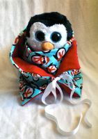Penguin Scarf by WollMia