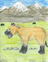 Sabre-Toothed cat by Malcassairo