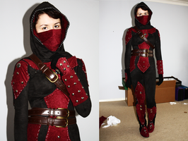 Dark Brotherhood Cosplay Progress by Goatkult
