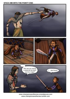 C+H: [DAI spoilers] Stick Him With the Pointy End by Ddriana