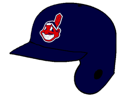 Cleveland Indians Road Batting Helmet by Chenglor55