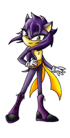 Stealth the Hedgehog by SaturnGrl