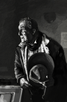 Old Cowboy by mollygrue