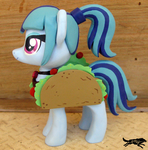 Commission-Figure, Sonata Dusk Taco Outfit by LostInTheTrees
