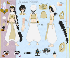 :1001: Janan Reference Sheet by Inupii