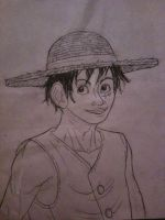 just a Luffy by Sk8rock69