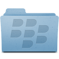 Blackberry folder icon by Meteormirage