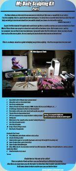 [Tutorial] My Daily Sculpting Kit  *redux* by dustysculptures