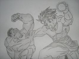 broly vs hulk by sheamusbyrne