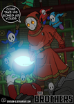 Mario Brothers - Court of Shyguys by DIVISION-6