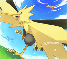 Zapdos Legends by Kureculari
