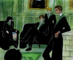 Slytherin's Room by Dhesia