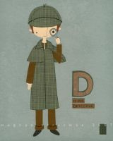 D is for Detective by renton1313