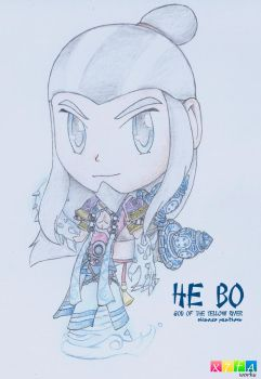 He Bo (SMITE) by xander64lmh