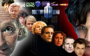 Doctor Who Wallpaper by Chuck-the-ADDragon