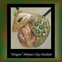 Sweet Dragon Pendant by KabiDesigns