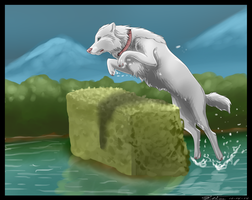 RoH - Water jump by KuuNara