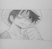 Monkey D. Luffy by anime3fan3